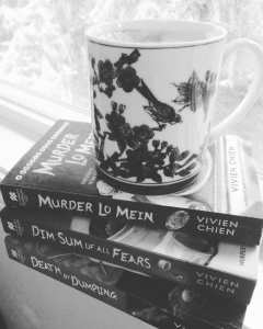 Book Review Noodle Shop Mystery series by Vivien Chien