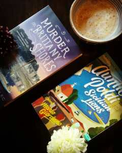 Book Review Murder on Brittany Shores and Auntie Poldi and the Sicilian Lions