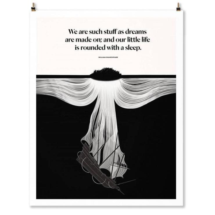 Obvious State Shakespeare Art Print