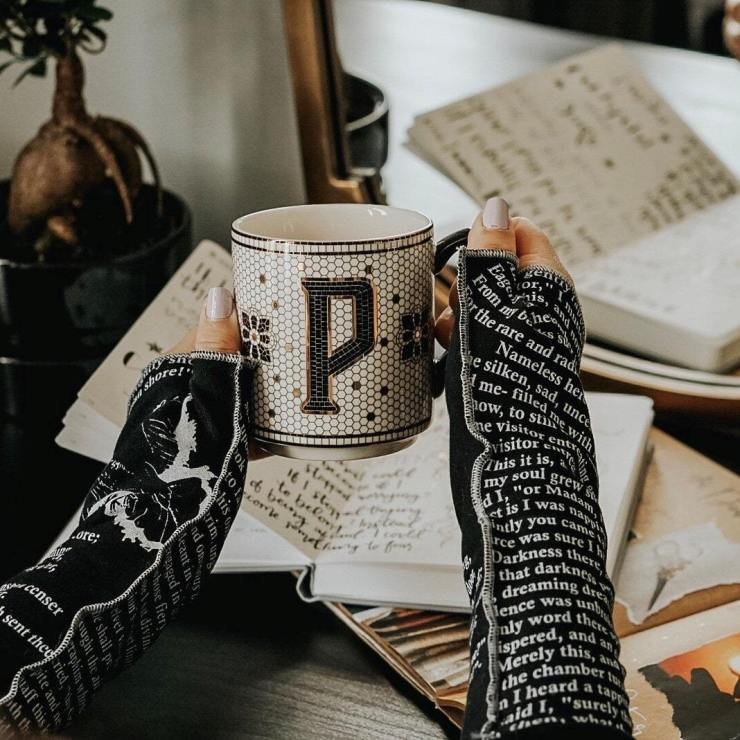 Storiarts The Raven Writing Gloves