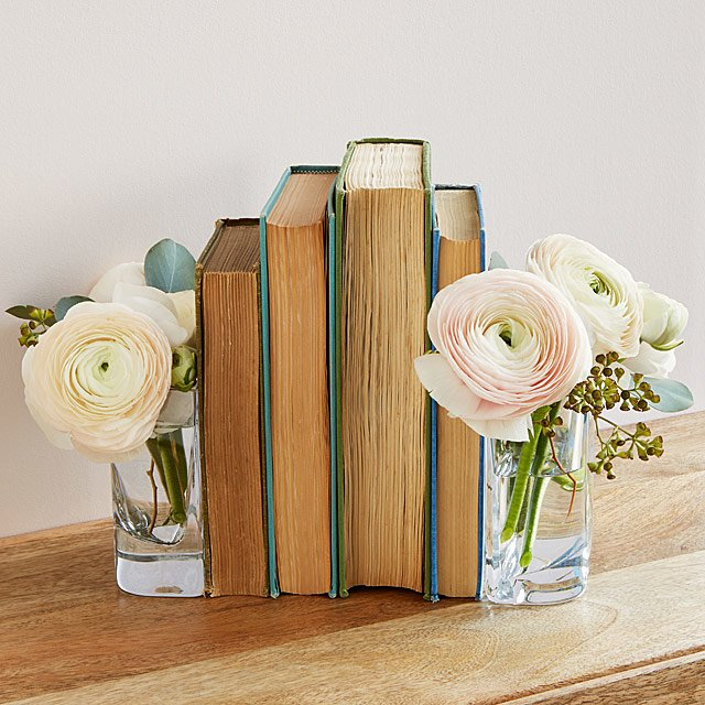 Uncommon Goods Vase Bookends